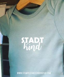 """Motiv aus Flexfolie zum Aufbügeln """"STADTkind"""""""