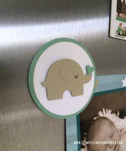 Spardose und Sparbuchhülle Elefant B