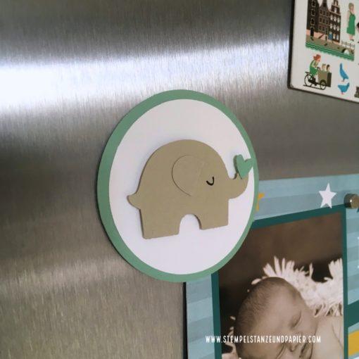 Spardose und Sparbuchhülle Elefant C